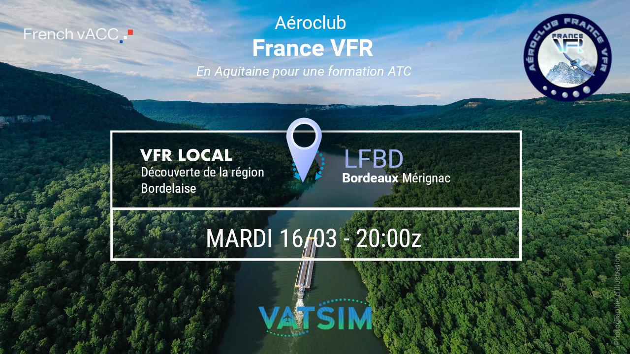 Mardi 16 mars 2021 - VFR Navigation Est…